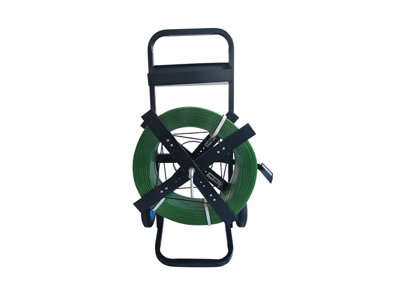 MPPK SJ400 Packing Tape Strap Tool Simple Trolley Windmill PET Strapping Dispenser Movable Stand