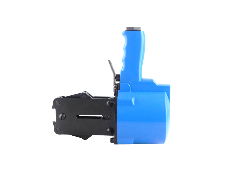MPPK KCS-16/19/25/32 Blue Seal Making Machine Semi auto Pneumatic Steel Strapping Sealer Clip Tool for Iron Buckle