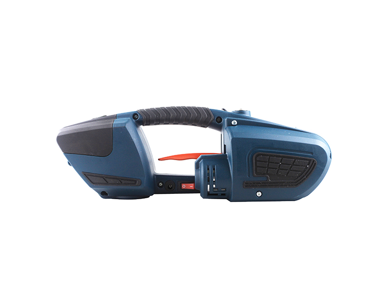 MPPK JDC13 /16 Outdoor available Strapper Hand 4000mAh Battery powered Semi automatic Pallet Box Plastic PP PET Strapping Machine
