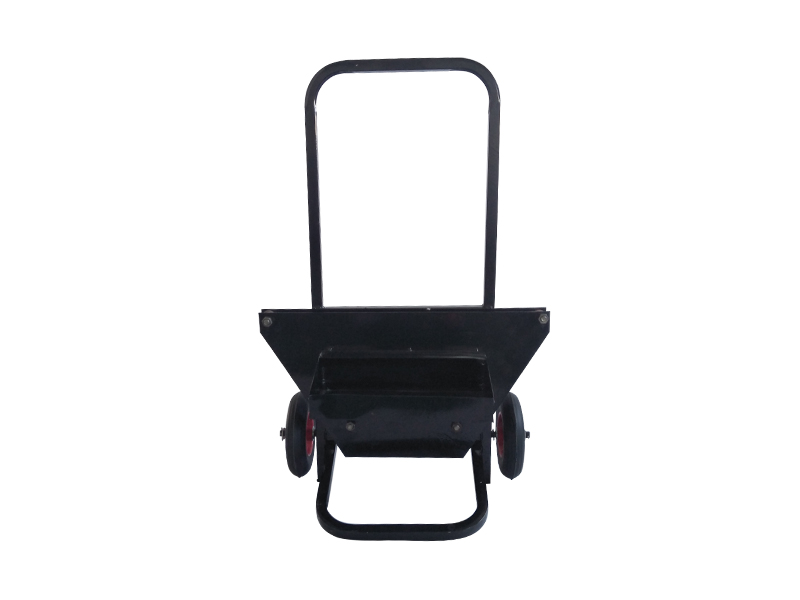 G400 Heavy Duty Industrial Metal Iron Band Strip Push Trolley Mobile Stand Cart Stainless Steel Strapping dispenser with wheels