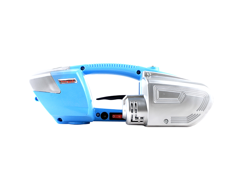 MPPK JD13/16 Buckle free Blue Handheld Lithium Battery powered  PET PP Strapping Tool for Carton Box Pallet