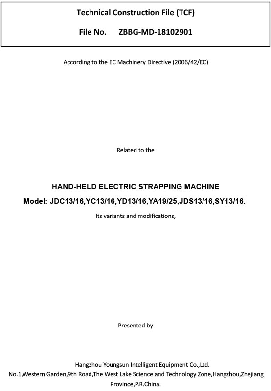HAND-HELD-ELECTRIC-Strapping-machine-TCF