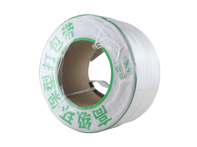 Custom belt White 12mm Polypropylene PP Band Strap for semi automatic machine