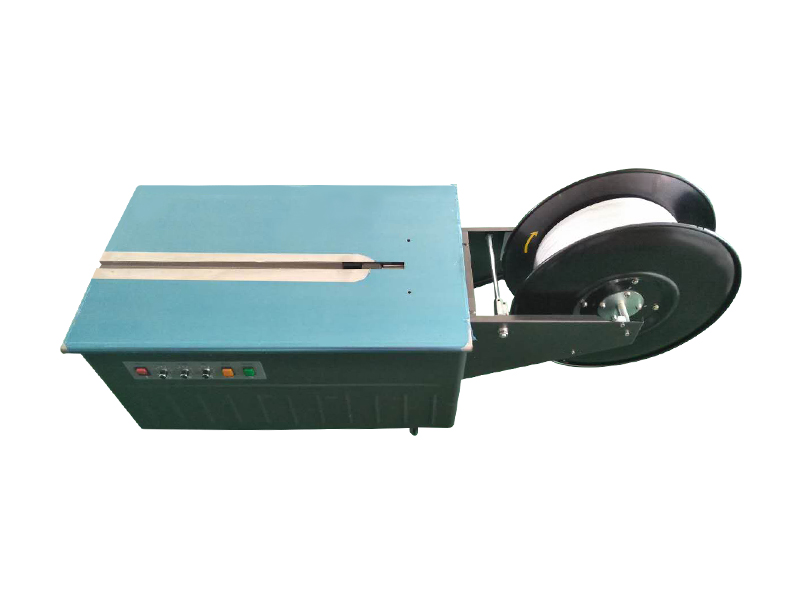 AS-13N Double-motor Electric Low Table 6-15mm PP Strapping Machine for Book Carton